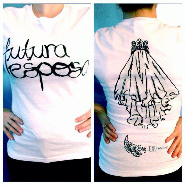 Camisetas originales para tu despedida y boda www.facebook.com/silosoybodas http://www.bodaclick.com.mx/bodas-mx/ideas-originales-para-bodas/si-lo-soy.html?proc=PLANTA_premium