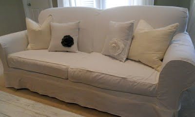 Finally an easy slipcover tutorial I can totally follow!