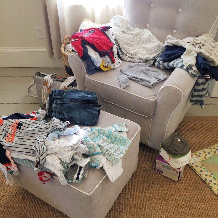 Kitchen Organization For Baby Stuff: Best 25+ Clothes Storage Ideas On Pinterest