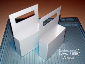 Hallo,  ***  Hi,     heute habe ich Andrea von Schnipsel und mehr einen kleine Anleitung für einen Notizzettelkorb für euch. Dies ist ein wi...