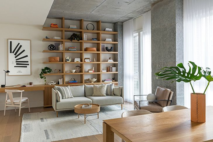 How A Cold Brooklyn Apartment Was Transformed Into A Warm Family Home Home Home Living Room Home And Living