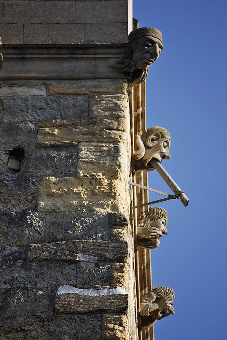 One of the most important things to tell you if visiting Oxford...Keep looking UP so you dont miss the Gargoyles and Grotesques,they really are everywhere