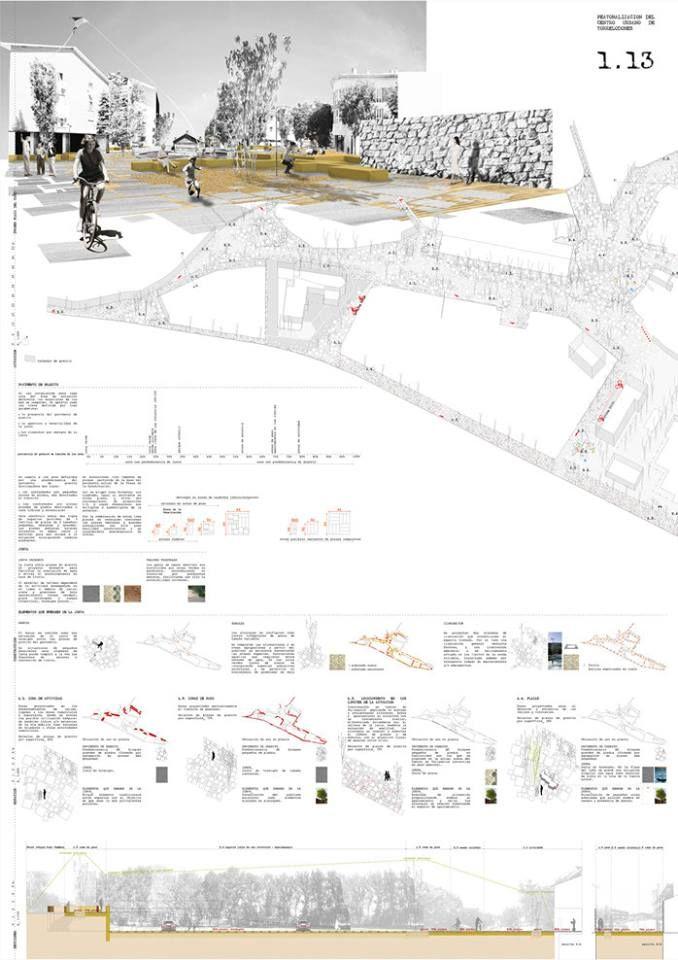 [A3N] : Pedestrian Area in Torrelodones Competition Winner (1st Prize : 1.13) / Moreu Mestre Arquitectos