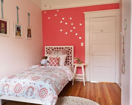 Modern little girl bedroom painting ideas design pictures for Redesign my bedroom