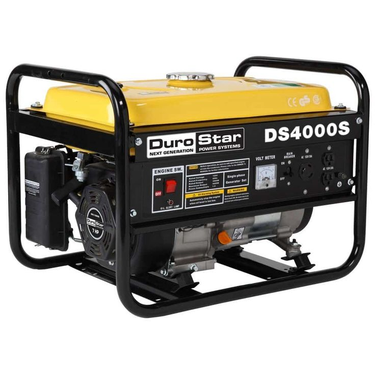 DuroStar DS4000S Home Depot Generators 3300 Running