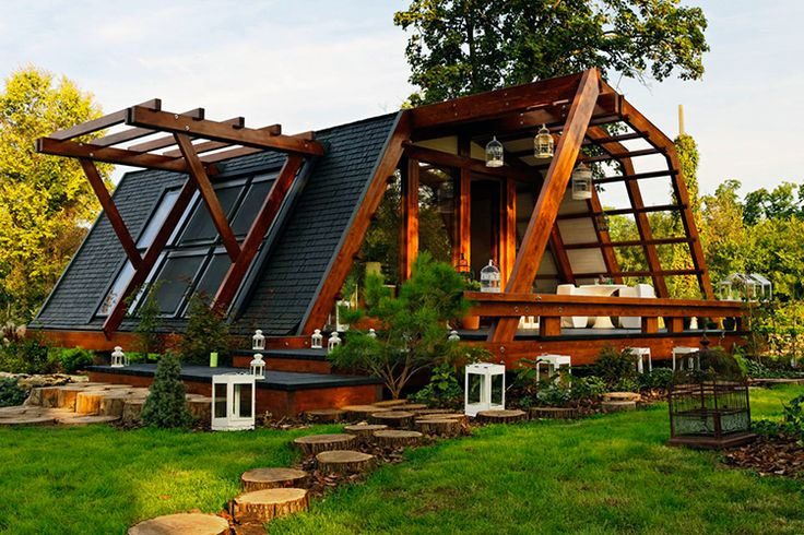 Casa solar pasiva diseñada para clima templado                              …