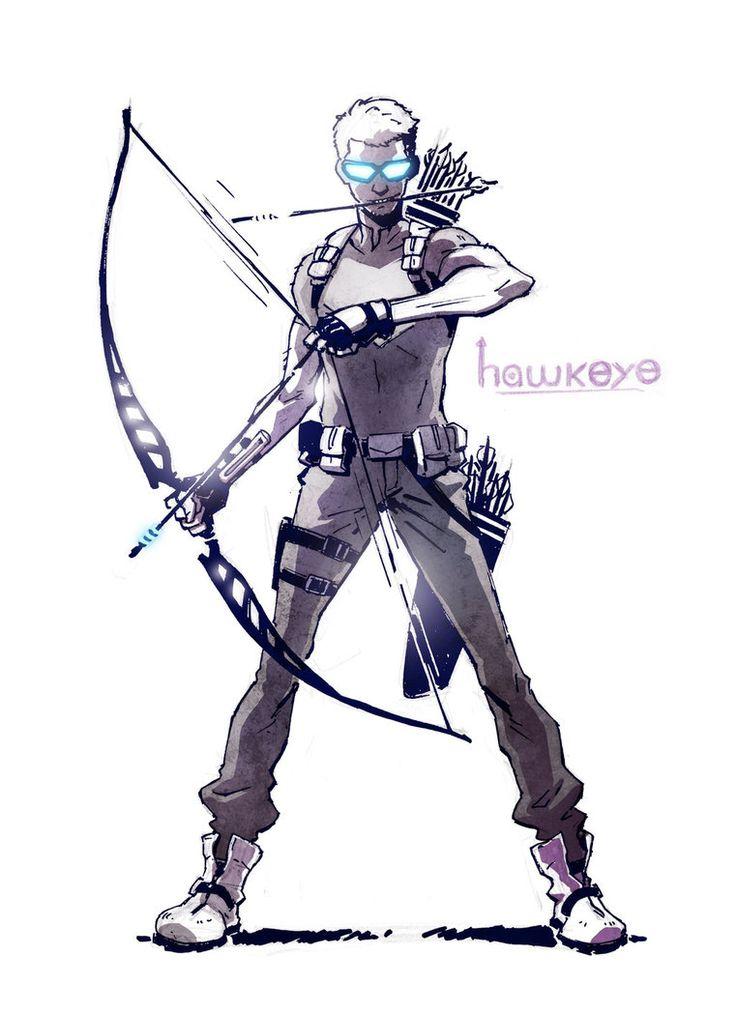 Hawkeye by CLE2 on DeviantArt