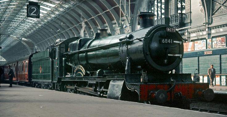 BR (GWR)  Grange class 4-6-0 No  6841 'Marlas Grange'