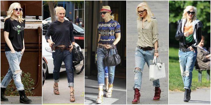 Gwen stefani boyfriend jeans