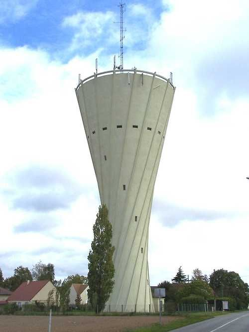 Water Tower #viqua: Water Towers, Châteaux Deau, Posts, Towers Viqua, Hyperboloïd,  Radios Reflector, Radios Telescope