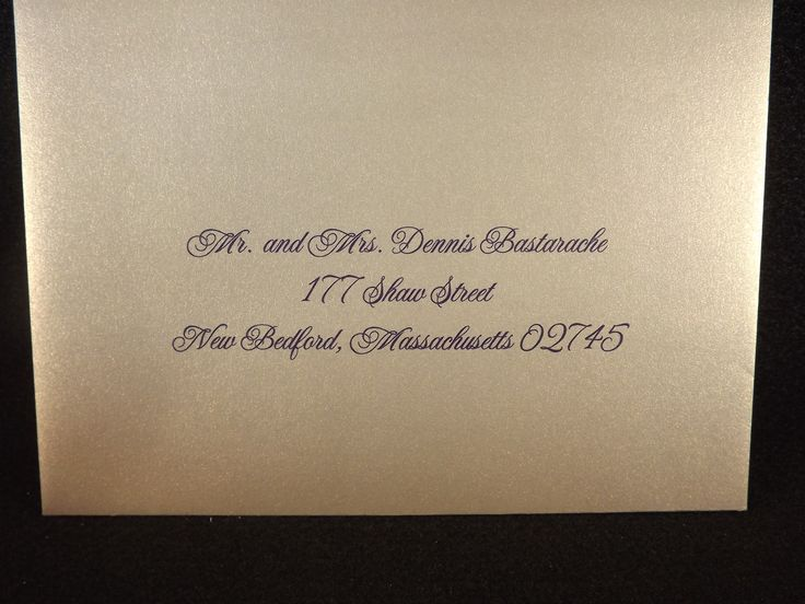 Should Wedding Invitations Be Hand Addressed: 1000+ Ideas About Envelope Addressing On Pinterest