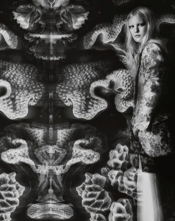 Publication: Bon Magazine #63 Winter 2012 Models: Linn Arvidsson, Lykke Jönsson, Stina Rapp Wastenson and Lovisa Hellners Photographer: Juli...