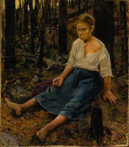 AKSELI GALLEN-KALLELA  Lost (1886)