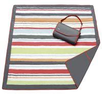JJ Cole Speeldeken/picknickdeken rood/grijs