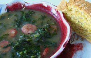 Caldo verde (la zuppa di cavolo)