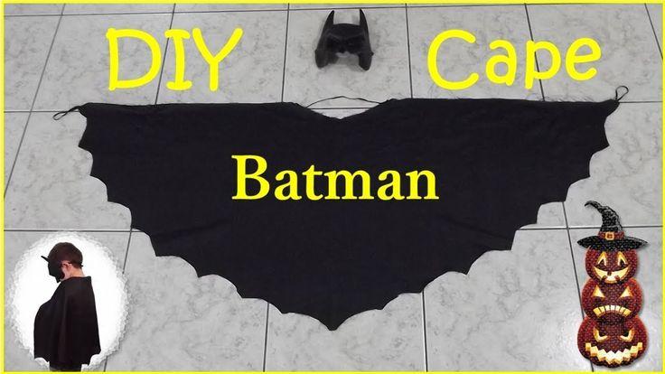 DIY Batman Cape - Μπέρτα Μπάτμαν