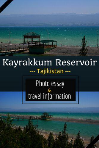 Kayrakkum Reservoir, Tajikistan