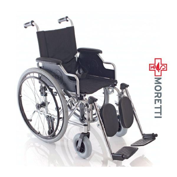 MCB473 - Fotoliu rulant pliabil cu actionare manuala, otel vopsit culoare gri titan - dimensiune sezut 45 cm http://ortopedix.ro/carucior-transport-actionare-manuala/179-mcb-473-carucior-handicap-otel-vopsit-culoare-gri-titan.html