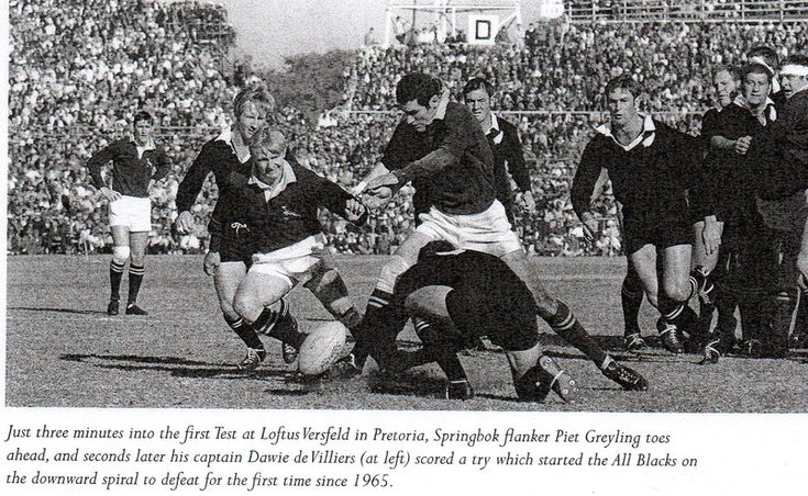 First test 1970 - The McLook rugby collection