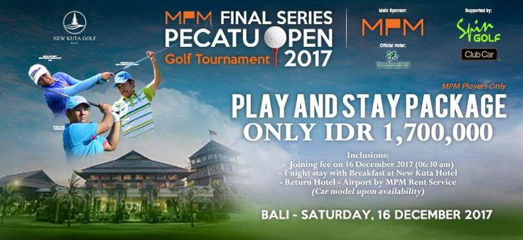 PECATU OPEN 2017 - Hotelier Indonesia Golf N Travel