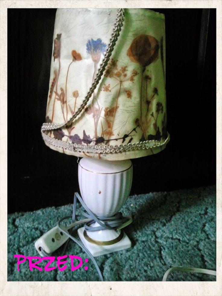 radosna WYtwórczość stolik tutu DIY recyklingodnawianie mebli dzieweczynka pokój ksieżniczka tiul księżniczki lampka