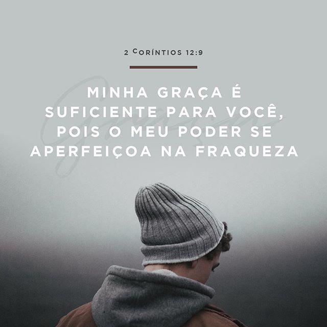 """""""Minha graça é suficiente para você, pois o meu poder se aperfeiçoa na fraqueza""""  2 Coríntios 12:9  #30DaysOfBibleLettering (+) maisoverflow.com  X"""