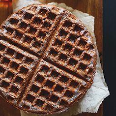 Vegan Blue Cornmeal Waffles | Minimalist Baker Recipes