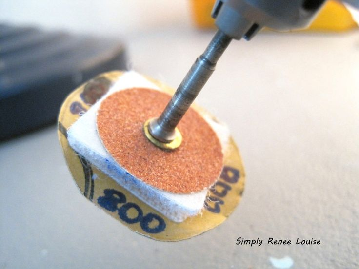 Dremel sanding discs for polymer clay simply renee - Accesorios para dremel ...