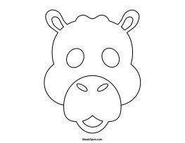 Printable Camel Mask to Color