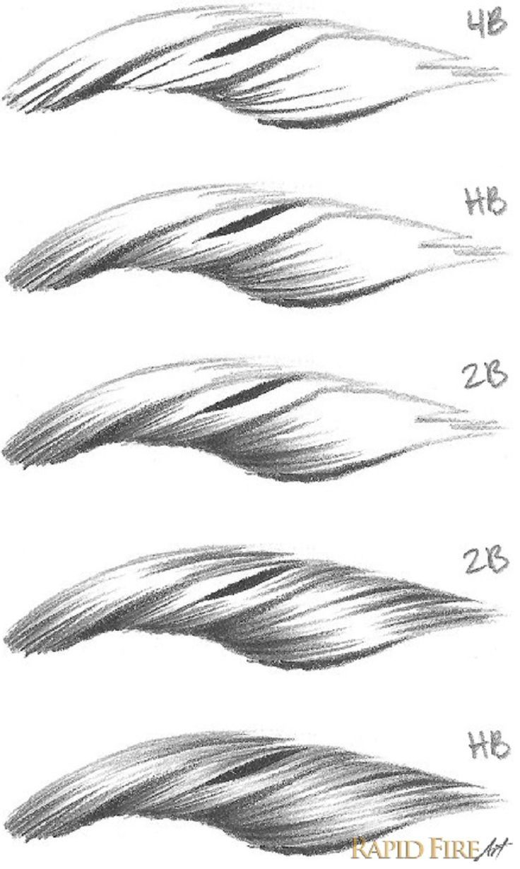 Tutorial: Drawing Short Hair – Very detailed tutorial with lots of pictures
