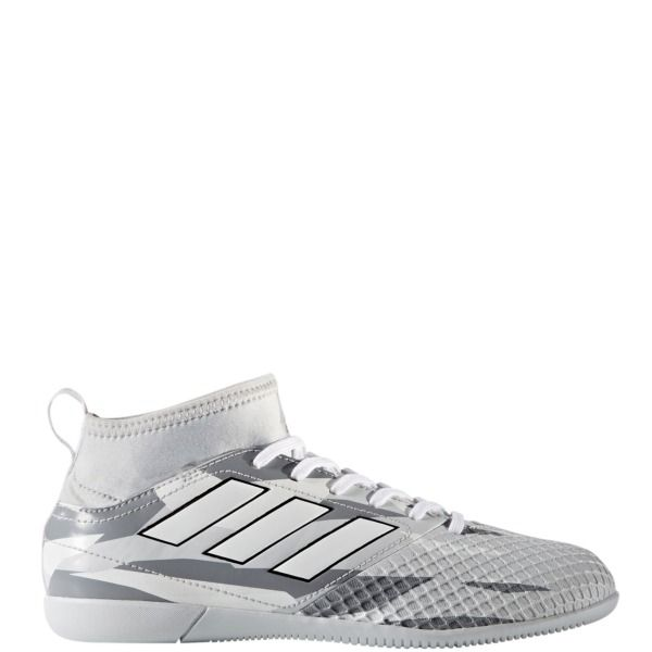 adidas ACE 17.3 IN J Camo Pack Grey/White/Black Youth Indoor Soccer Shoes - model BB1011
