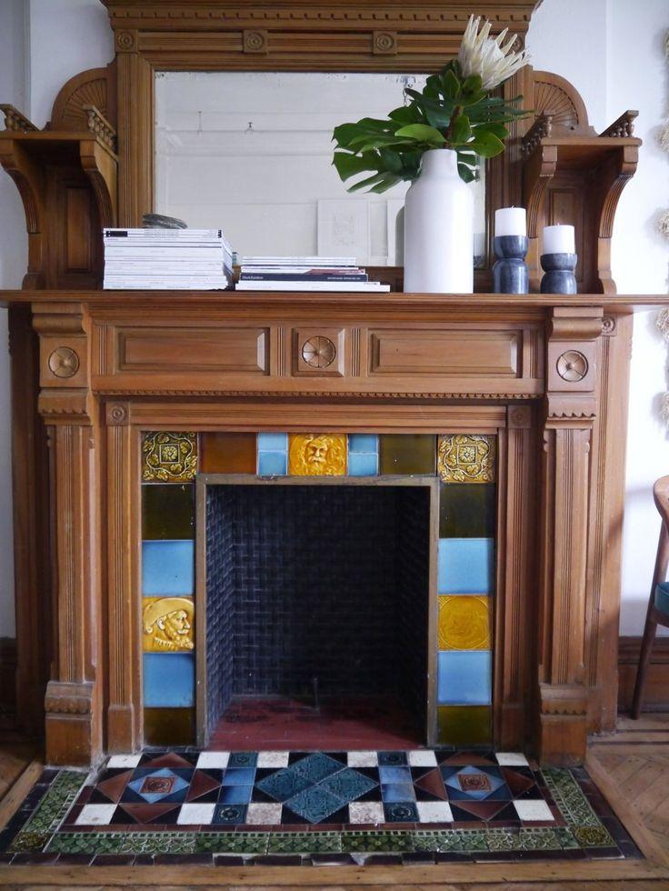 Kai And Dan S Lovingly Restored Brownstone Flat Tiled