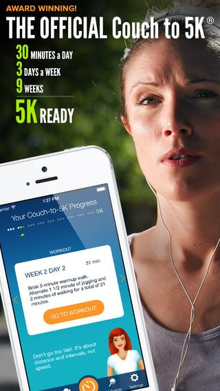"""When you need an extra push in your workout and can't afford the high cost of a personal trainer, give exercise apps a try! I just started using """"Couch to 5K"""" and really like how it takes you to the next level!"""