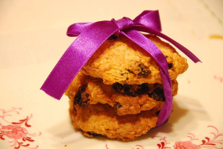 Aromatyczne Podróże: Ciasteczka owsiane