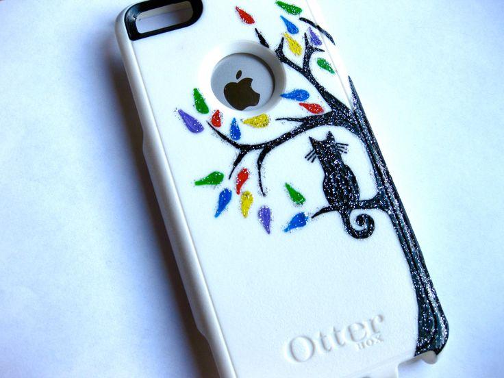 OTTERBOX iphone 5c case, case cover iphone 5c otterbox ,iphone 5c otterbox case,otterbox iPhone 5c, otterbox, cat in tree otterbox case by JoeBoxx on Etsy