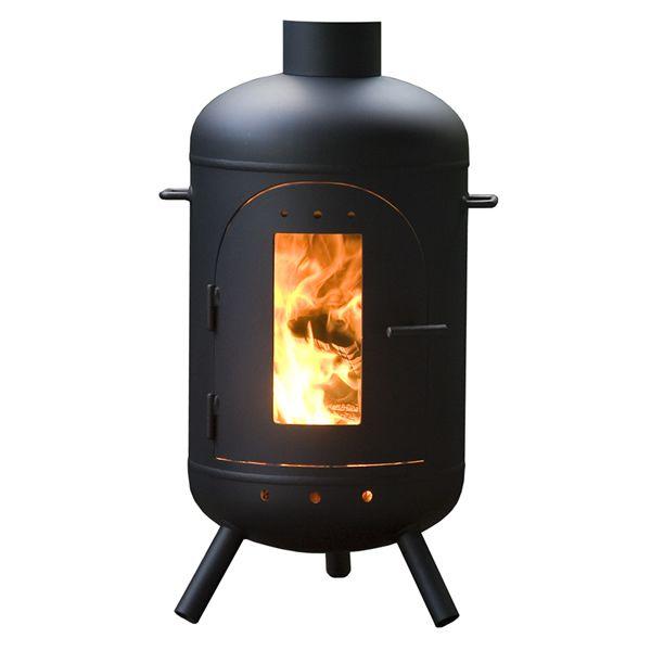 Burnies - Verkozen tot mooist brandende terraskachel van Nederland! €800