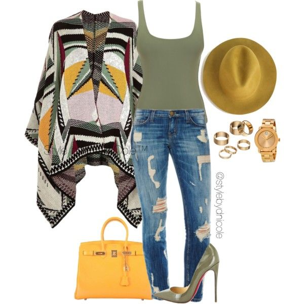 Untitled #3104 by stylebydnicole on Polyvore featuring River Island, Hermès, Movado, Apt. 9, Christian Louboutin, women's clothing, women's fashion, women, female and woman