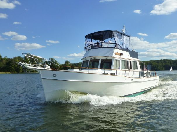 1996 Grand Banks 46 Classic-stabilized Power Boat For Sale - www.yachtworld.com