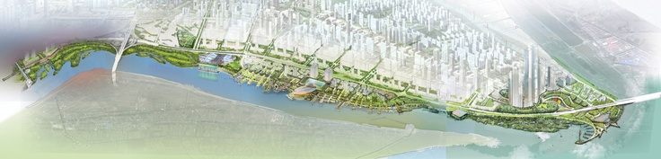 SWA Group's Design for Nanjing Hexi New Town