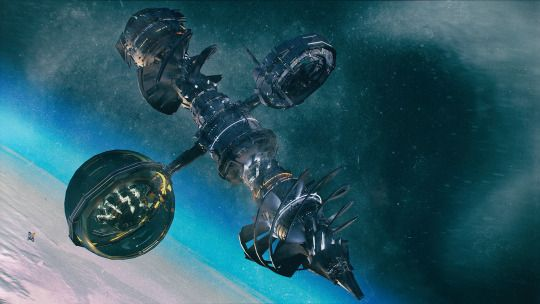 Космическая фантастика (Space Fantasy)   104-210116 Burrower by Kresimir Jelusic (robob3ar)