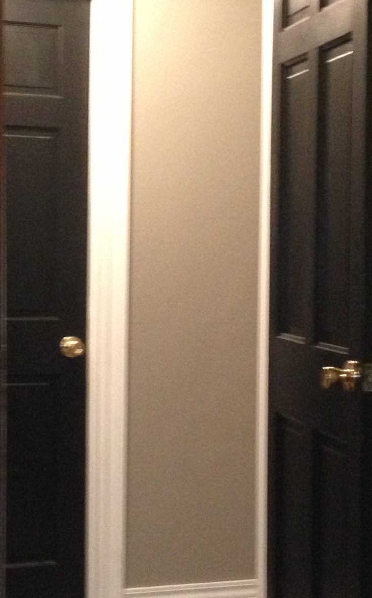 Gray Walls White Trim Black Doors Make My House A