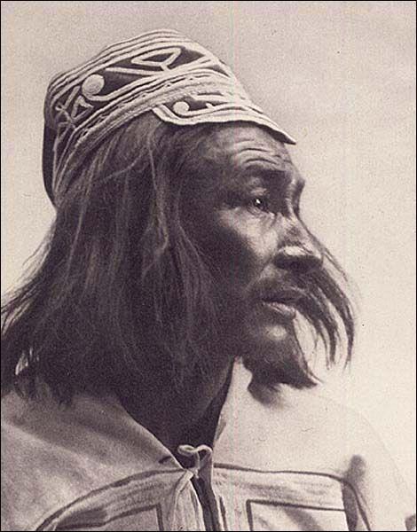 Unidentified Innu Man, 1912
