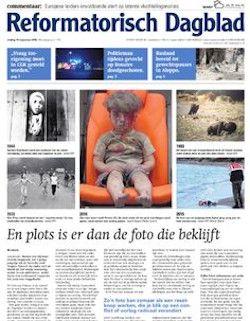 2 weken gratis Reformatorisch Dagblad : Het Reformatorisch Dagblad is een krant voor mensen die willen leven volgens of zich aangesproken voelen door de Bijbel. Het RD is hiermee hét dagblad voor christenen, zowel jong als oud.