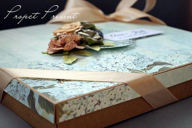 Album w pudełku - na 40 rocznicę ślubu