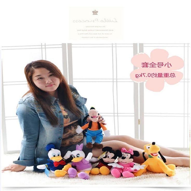 29.19$  Watch here - https://alitems.com/g/1e8d114494b01f4c715516525dc3e8/?i=5&ulp=https%3A%2F%2Fwww.aliexpress.com%2Fitem%2F6pcs-set-30cm-Mickey-and-Minnie-Mouse-Donald-duck-and-daisy-GOOFy-dog-Pluto-dog-plush%2F32708893836.html - 6pcs/set 30cm Mickey and Minnie Mouse,Donald duck and daisy,GOOFy dog,Pluto dog,plush toys funny toy free shipping 29.19$