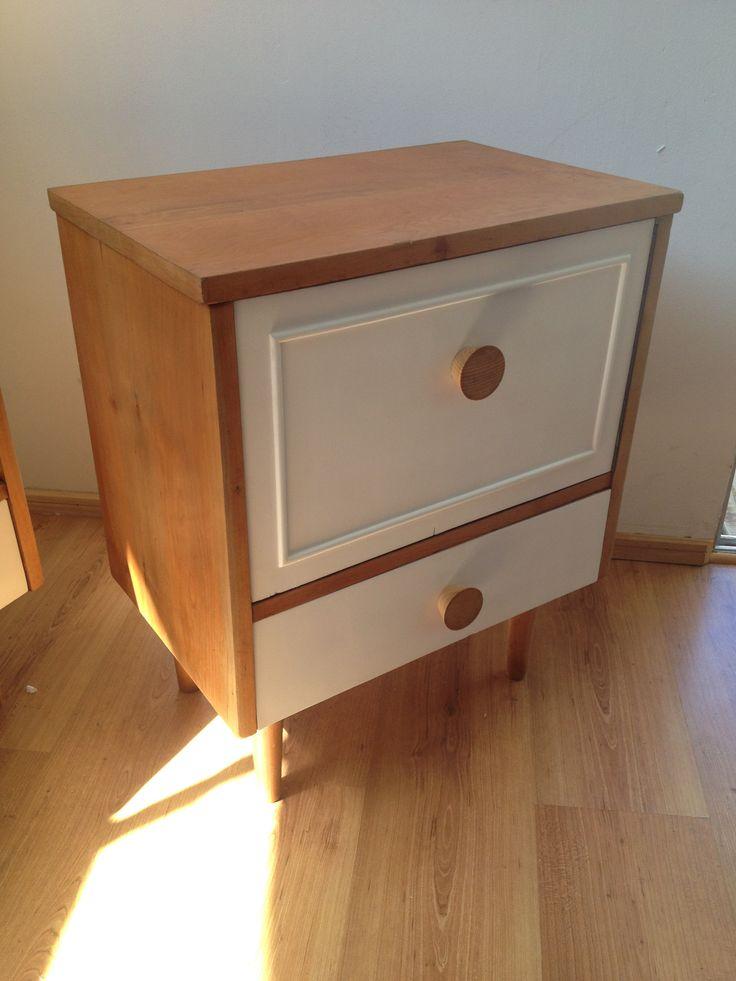 Bedside table restored
