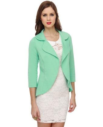 Mint green blazer! I need this!