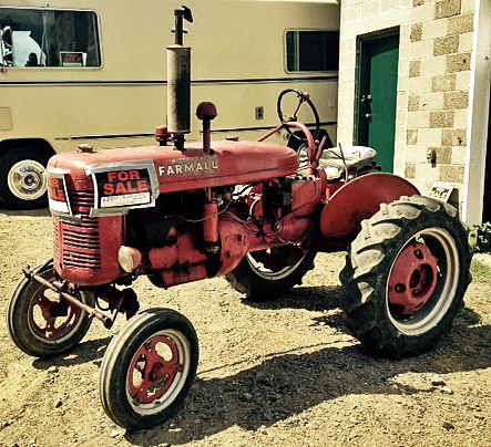 Antique Tractor for Sale