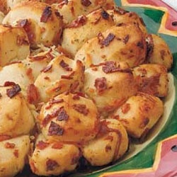 Pull-Apart Bacon Bread Allrecipes.com | Appetizers | Pinterest