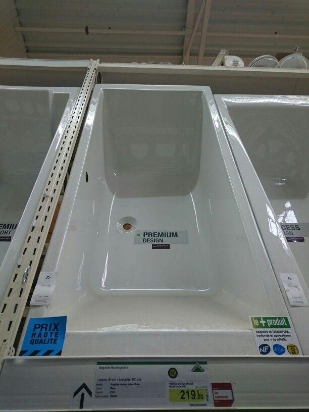 Baignoire leroymerlin baignoire duangle cuba x cm acrylique leroy merlin with baignoire - Joint acrylique leroy merlin ...